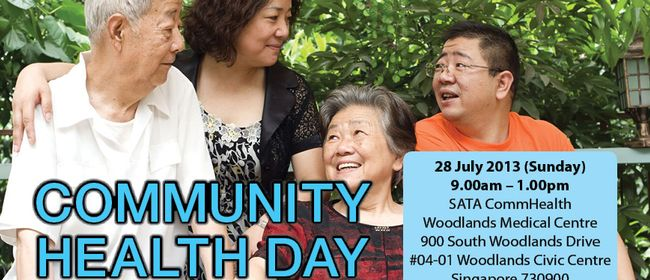 SATA CommHealth Woodlands Community Health Day