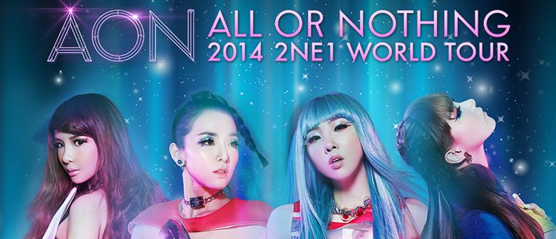 2NE1 - All Or Nothing World Tour