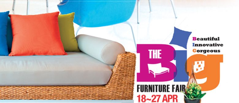Big Furniture Fair @ Singapore Expo Hall 7