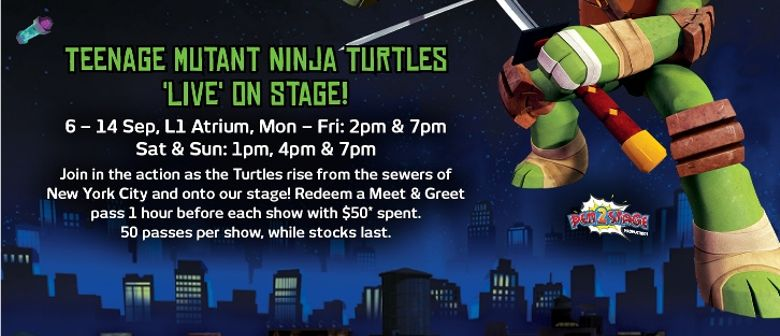 It's a Total Turtle Takeover at City Square Mall!