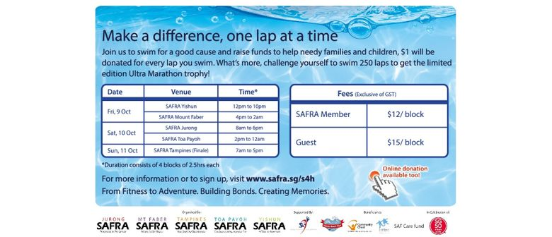 SAFRA Swim for Hope