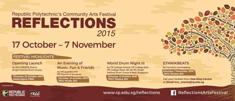 Reflections, Republic Polytechnic's Arts Festival
