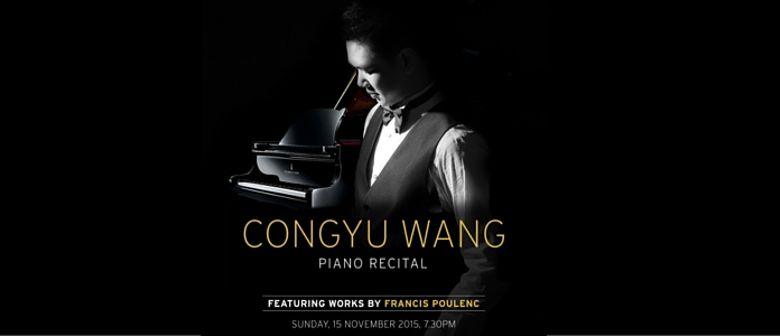 Congyu Wang Piano Recital