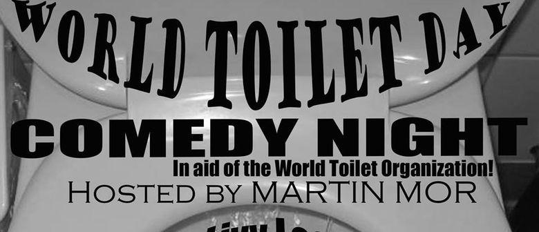 UN World Toilet Day Comedy Show, ft. Martin Mor!