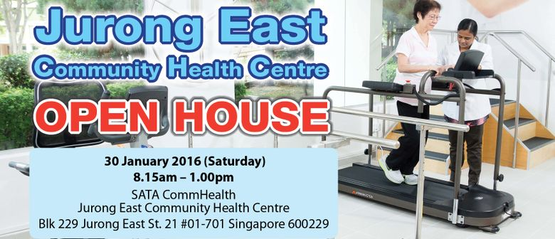 Jurong East Community Health Centre Open House