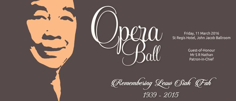 Singapore Lyric Opera 2016 Opera Ball