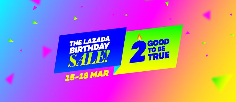 Lazada Singapore 2nd Birthday Sale