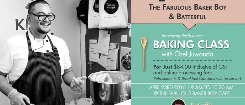 First Baking class with The Fabulous Baker Boy and Batterful