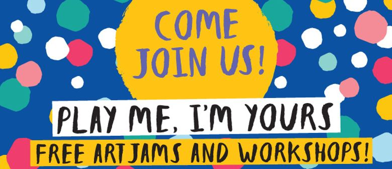 Play Me, I'm Yours Singapore 2016 - Art Jams & Workshops