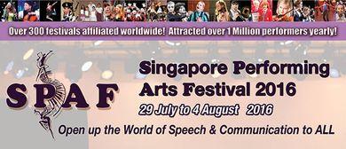 Singapore Performing Arts Festival Drama 2016