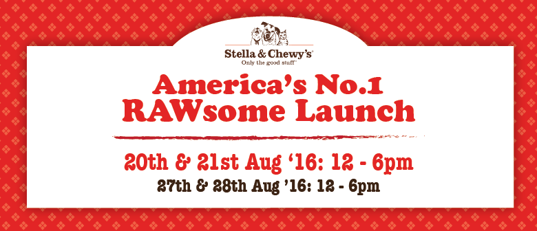 Stella and Chewy's Rawsome Launch