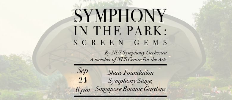 Symphony In the Park - Screen Gems