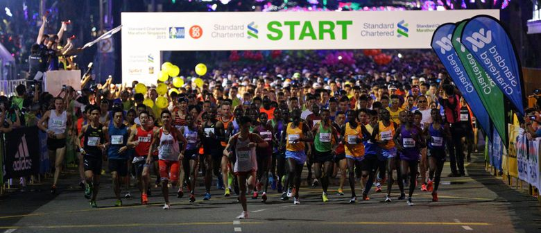 Standard Chartered Marathon Singapore 2016 - 21 and 42.195km