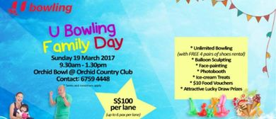 U Bowling Family Day