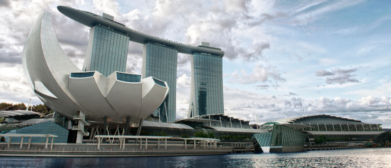 Marina Bay Sands - The Event Plaza